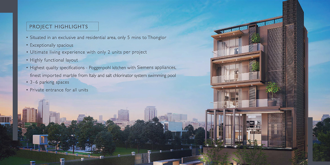Seacon Residences Luxury Edition - Project Highlights